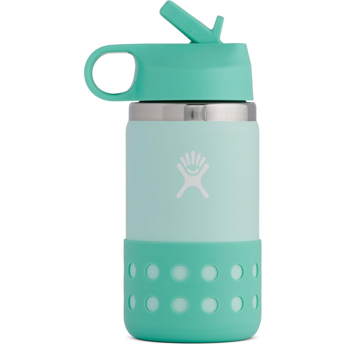 Produktbild von Hydro Flask 12 Oz Kids Wide Mouth Straw Lid & Boot Thermoflasche - 355 ml - Paradise
