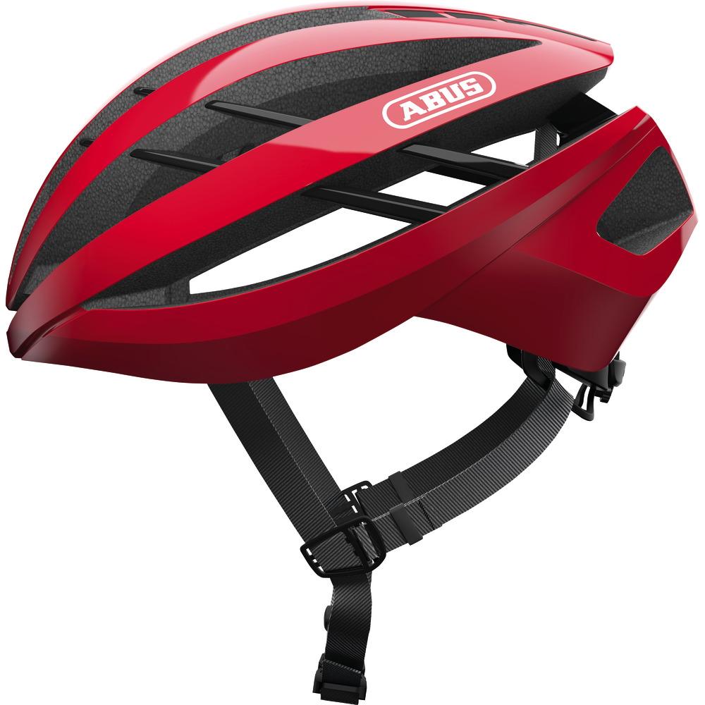 ABUS Aventor Casco - racing red