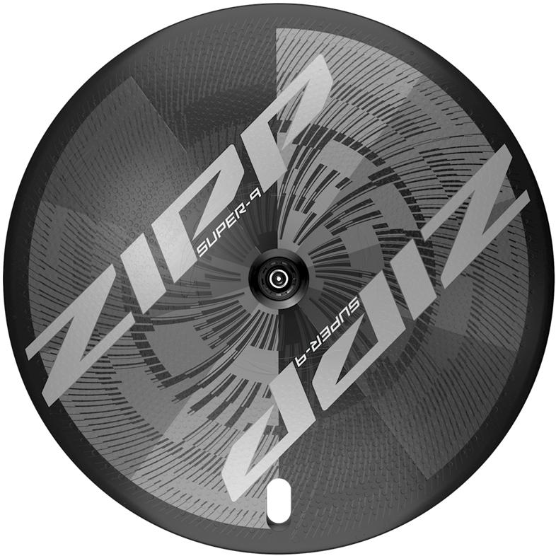 ZIPP Super-9 Carbon Disc Hinterrad - Schlauchreifen - Centerlock - 12x142mm - Shimano/SRAM 10/11f - schwarz