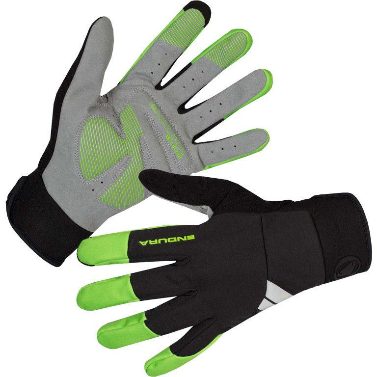 Endura Windchill Gloves - hi-viz green