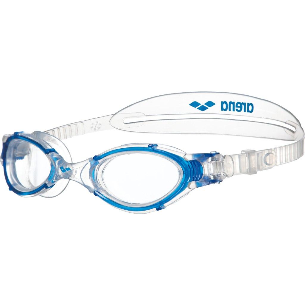 Produktbild von arena Nimesis Crystal Medium Clear/Clear/Blue Schwimmbrille
