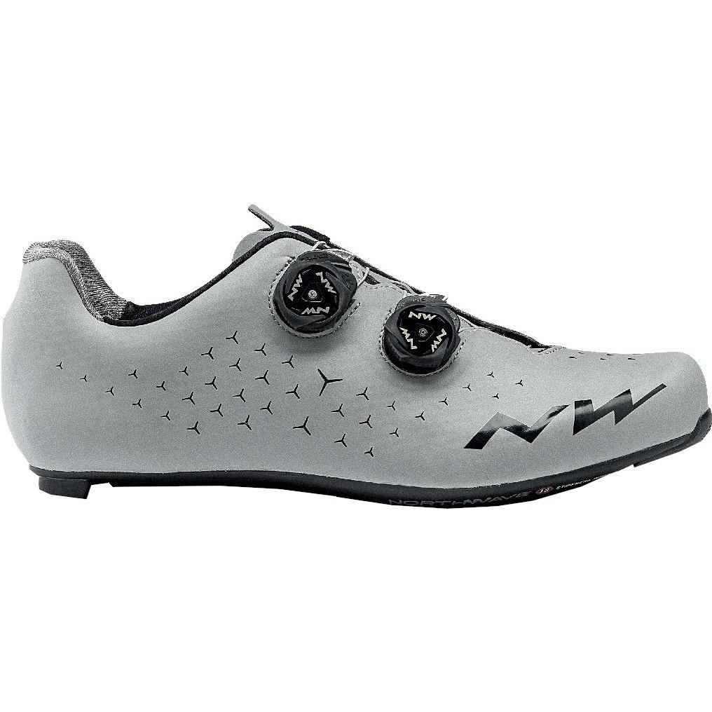 Northwave Revolution 2 Zapatillas de carreras - silver reflective 95