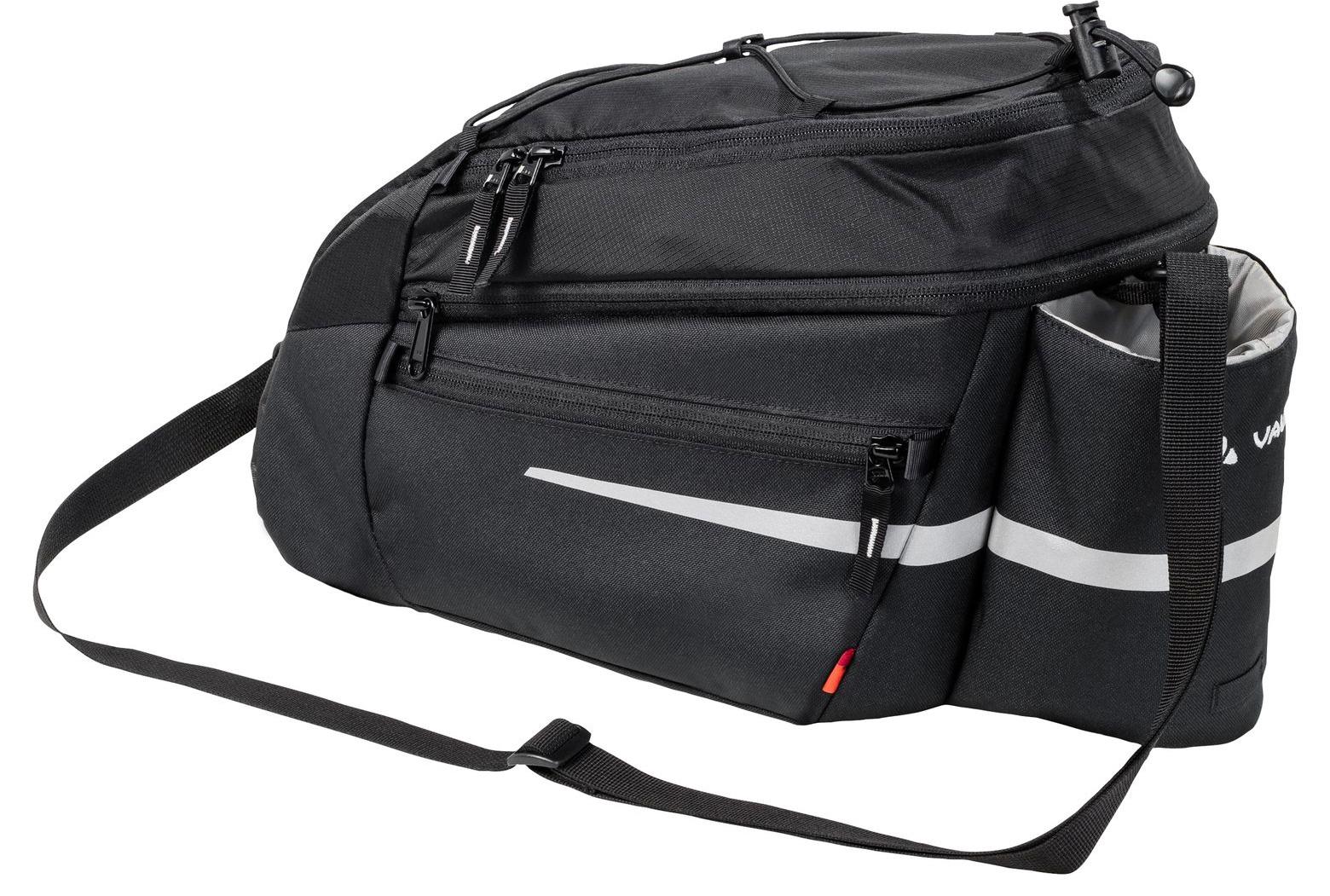 Vaude Silkroad L (UniKlip) Bike Pannier - black
