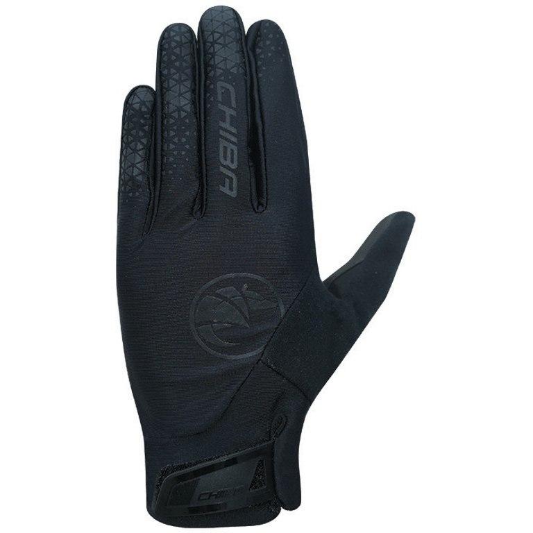 Chiba BioXCell Touring Full Finger Gloves - black/black