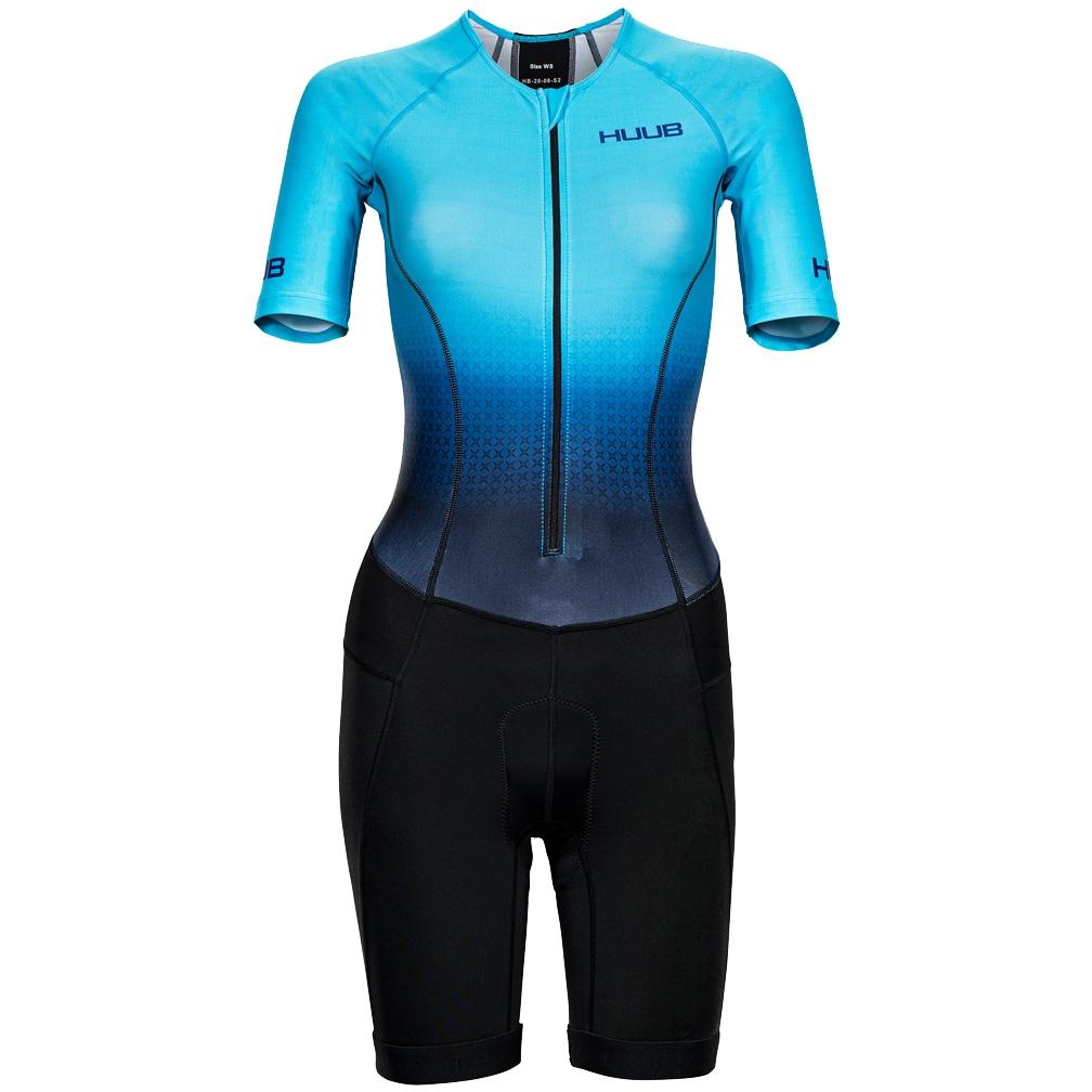 Produktbild von HUUB Design Commit Long Course Tri Suit Damen - agilis blue/schwarz