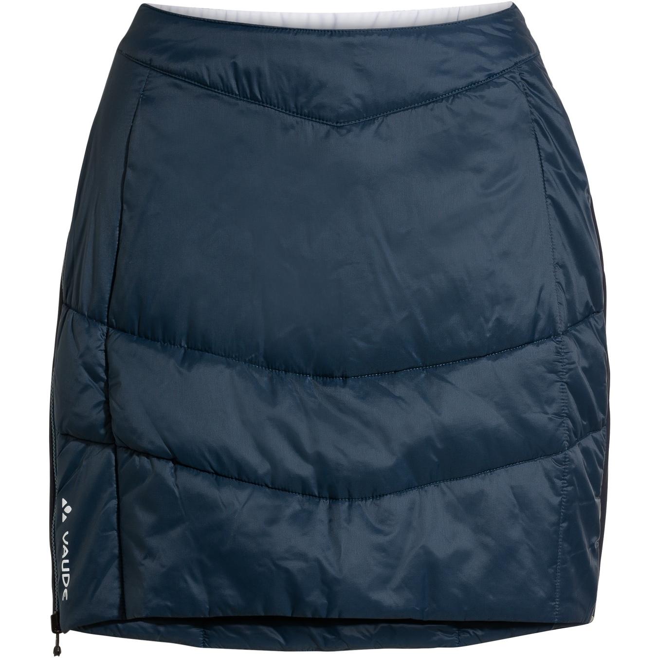 Image of Vaude Women's Sesvenna Reversible Skirt - dark sea