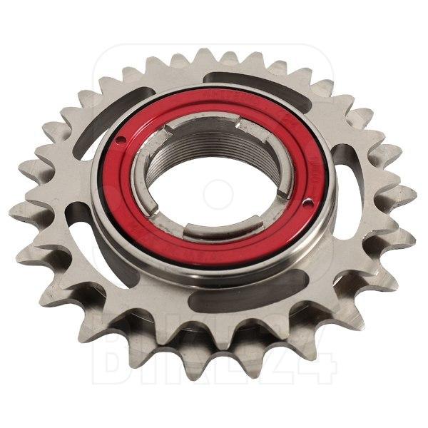 White Industries DOS ENO Freewheel 20/22 teeth - red locking ring