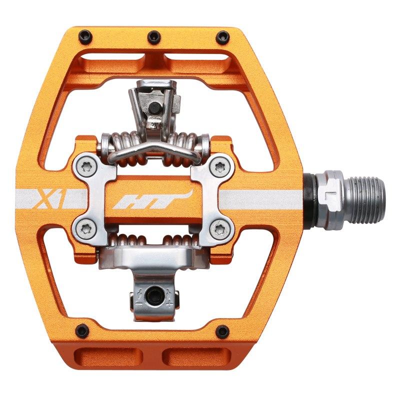 Bild von HT X1 Klickpedal Aluminium - orange