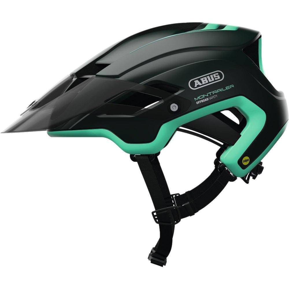 ABUS MonTrailer Mips Helmet - smaragd green