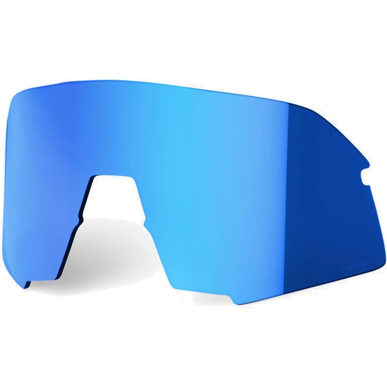 100% S3 HiPER Mirror Lente de repuesto - Blue Mirror