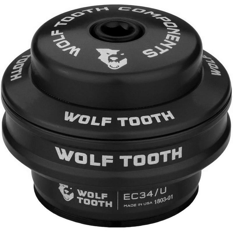 Wolf Tooth Precision EC Steuersatz Oberteil - EC34/28.6 - schwarz