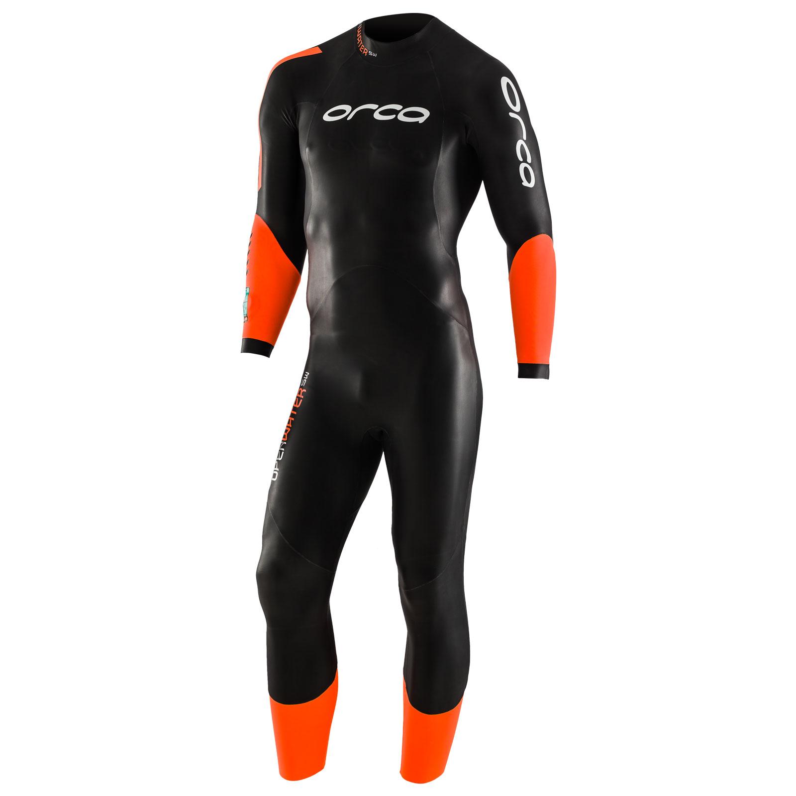 Orca Open Water SW Neoprenanzug - schwarz/orange