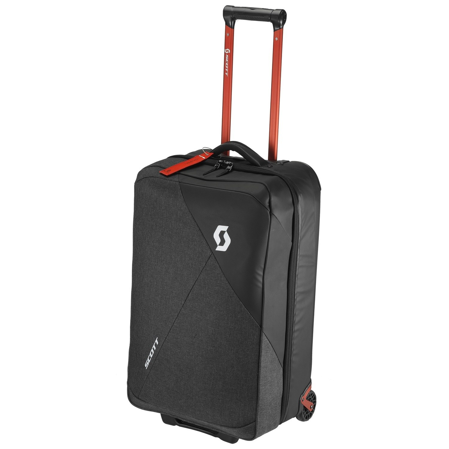 Picture of SCOTT Travel Softcase 70 Luggage - dark grey/red clay