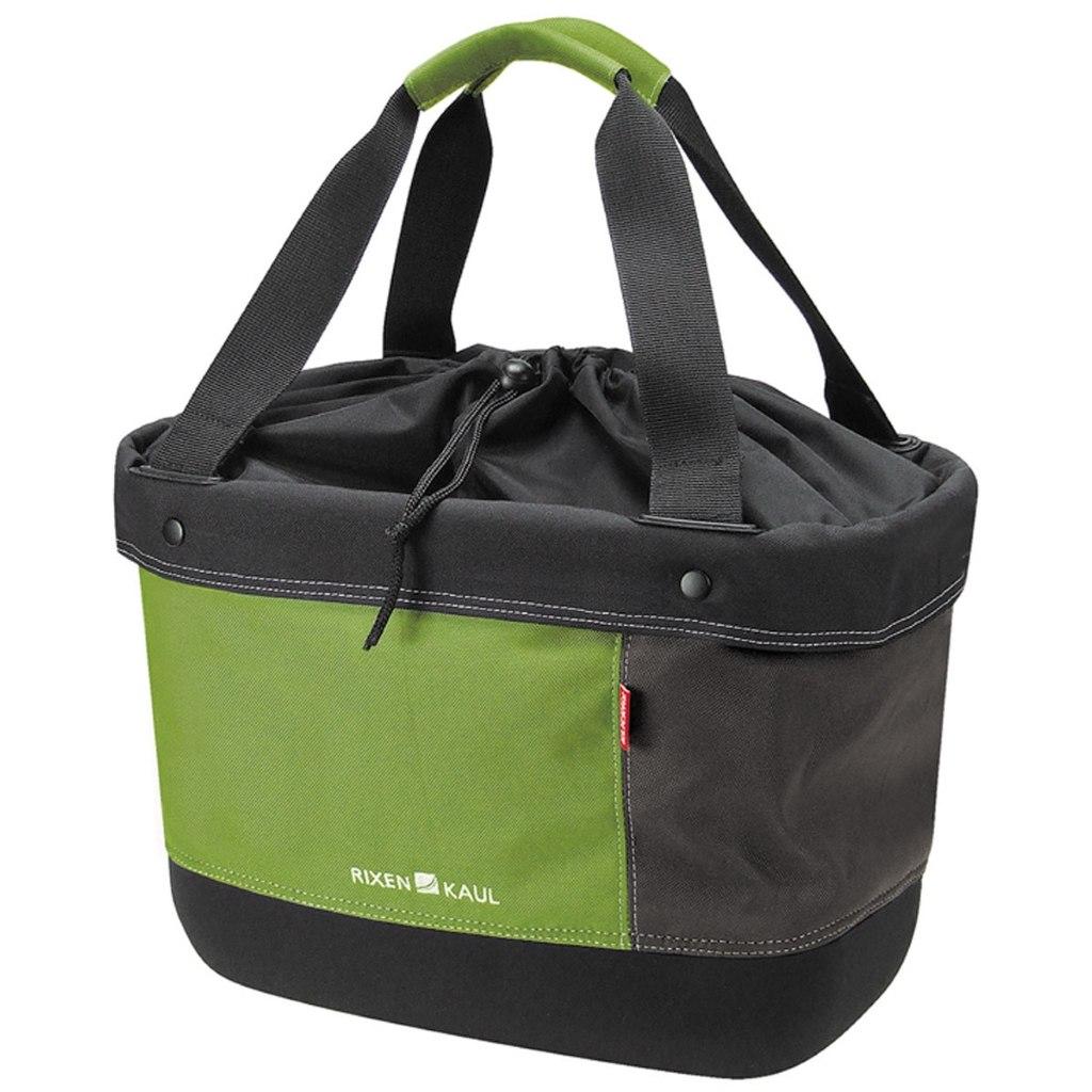 KLICKfix Shopper Alingo Bikebasket 0306 - green-brown