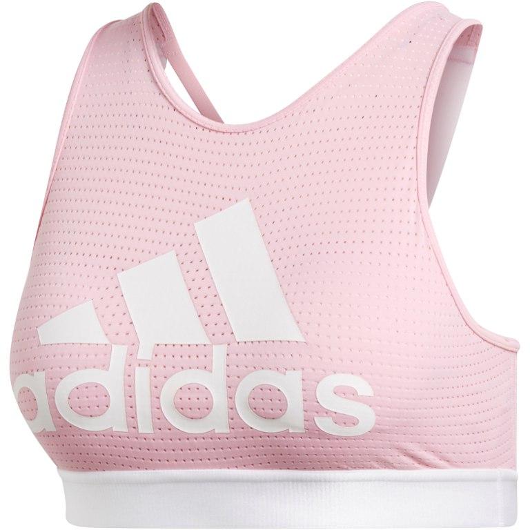 adidas Women's 2.0 Halter Logo Bra - true pink DT2760