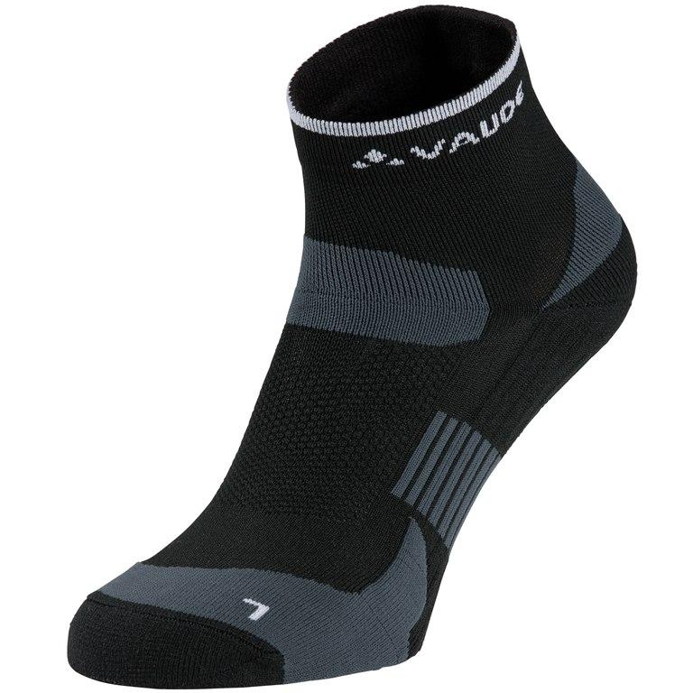 Vaude Bike Socken Short - schwarz