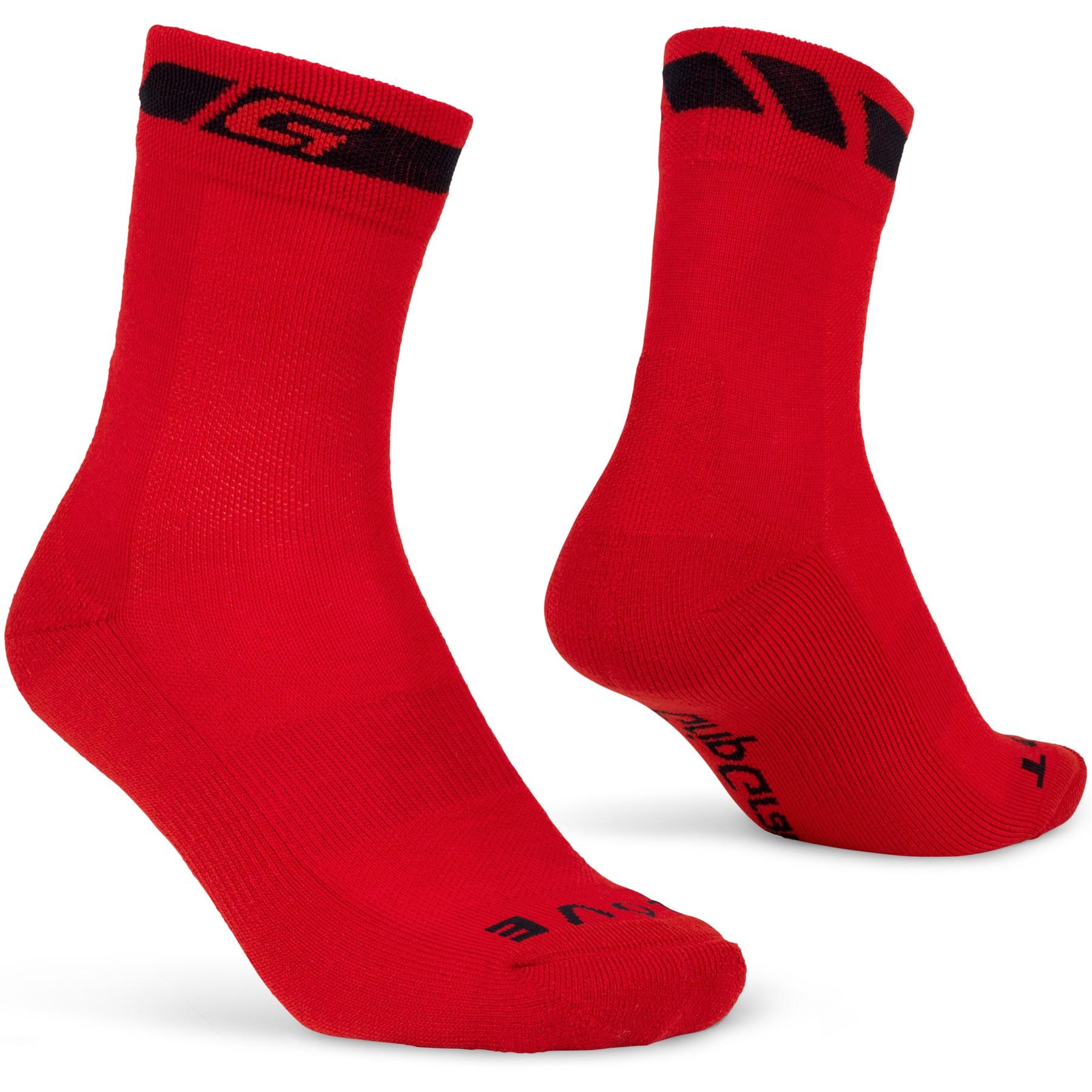 GripGrab Merino Winter Sock - Red