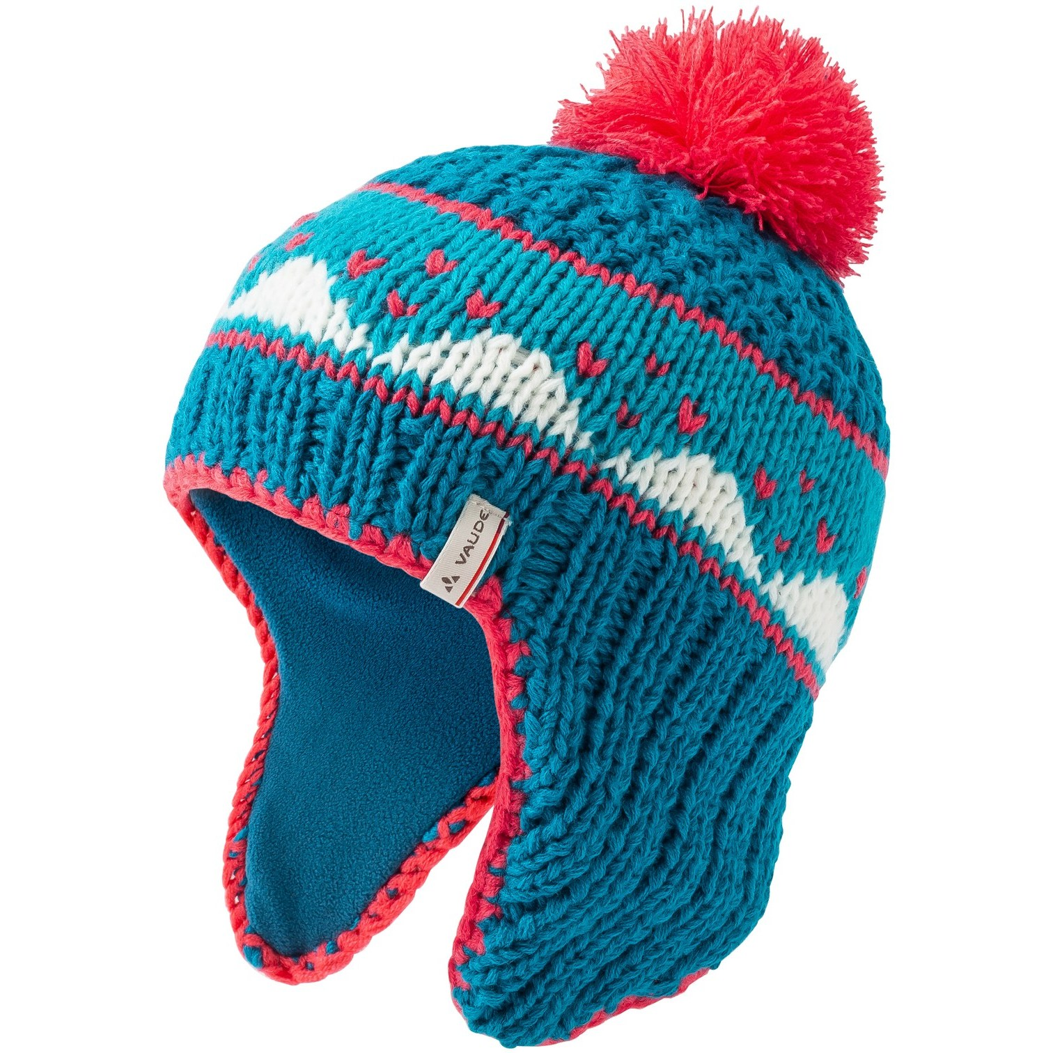 Vaude Kids Knitted Cap IV - arctic blue