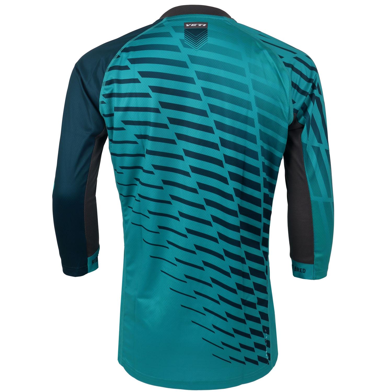 Image of Yeti Cycles Enduro 3/4-Sleeve Jersey - Turquoise Fade