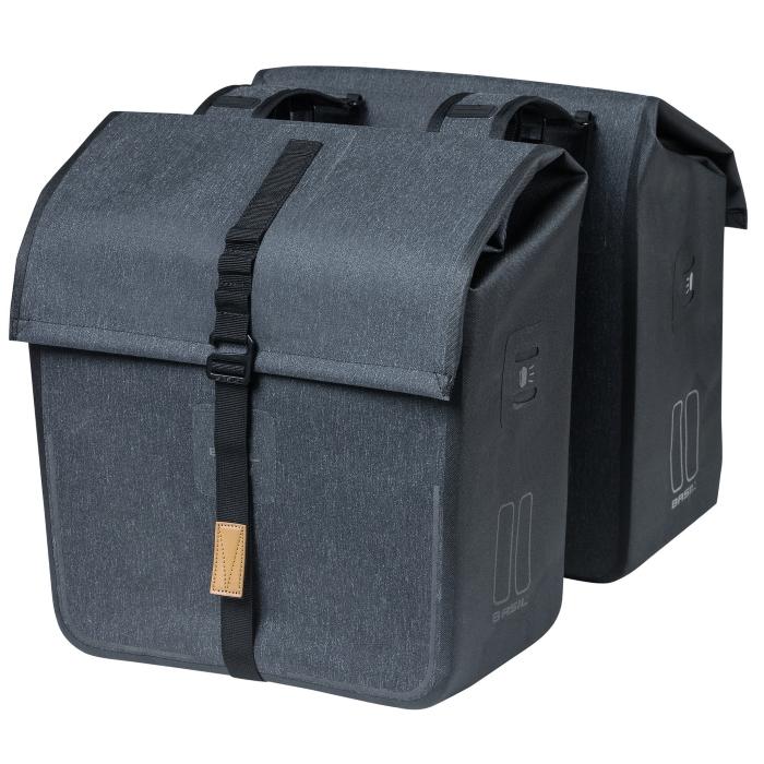 Basil Urban Dry Double Bag - grey