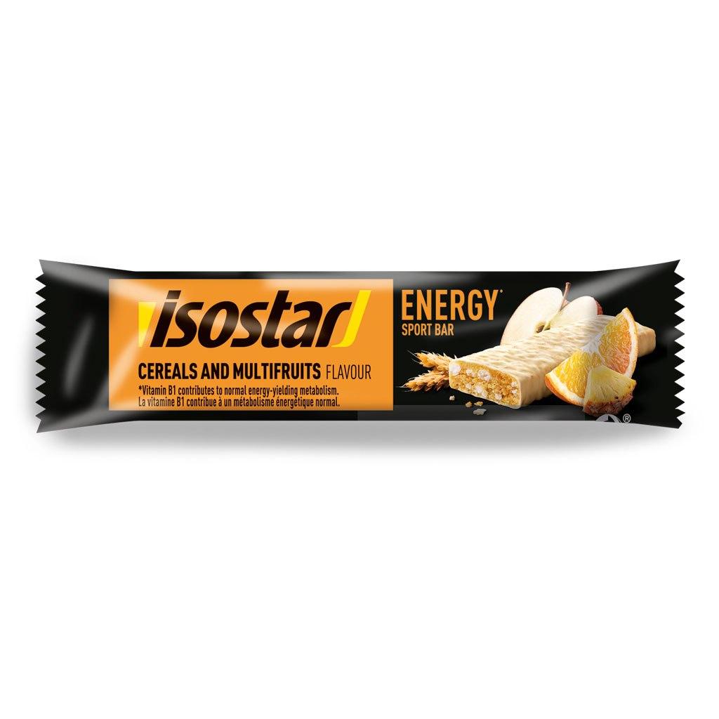 isostar Multifruit High Energy Sports Bar - 30x40g