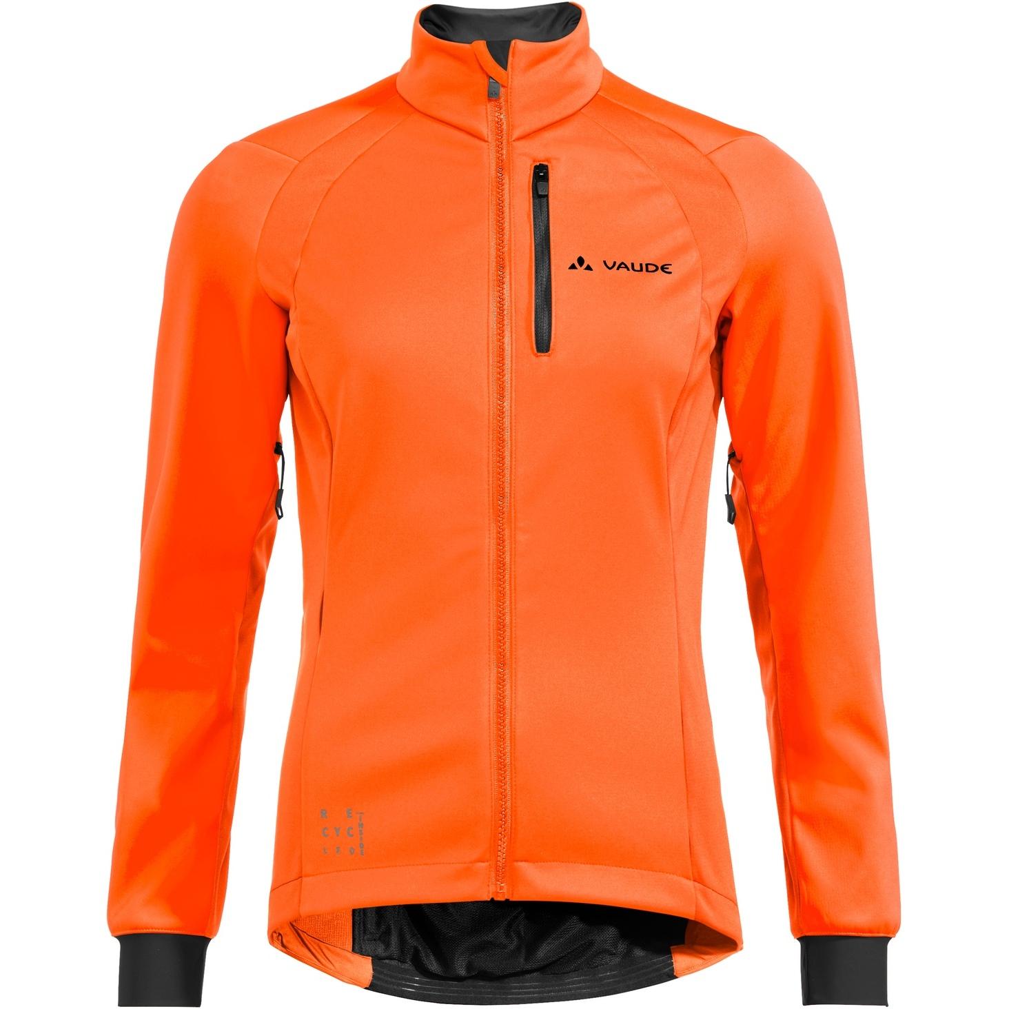 Vaude Posta Softshell Damenjacke - neon orange