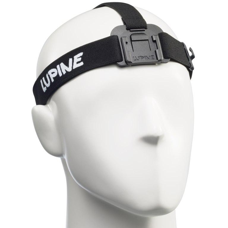 Lupine FrontClick Headband Neo / Piko / Blika - black