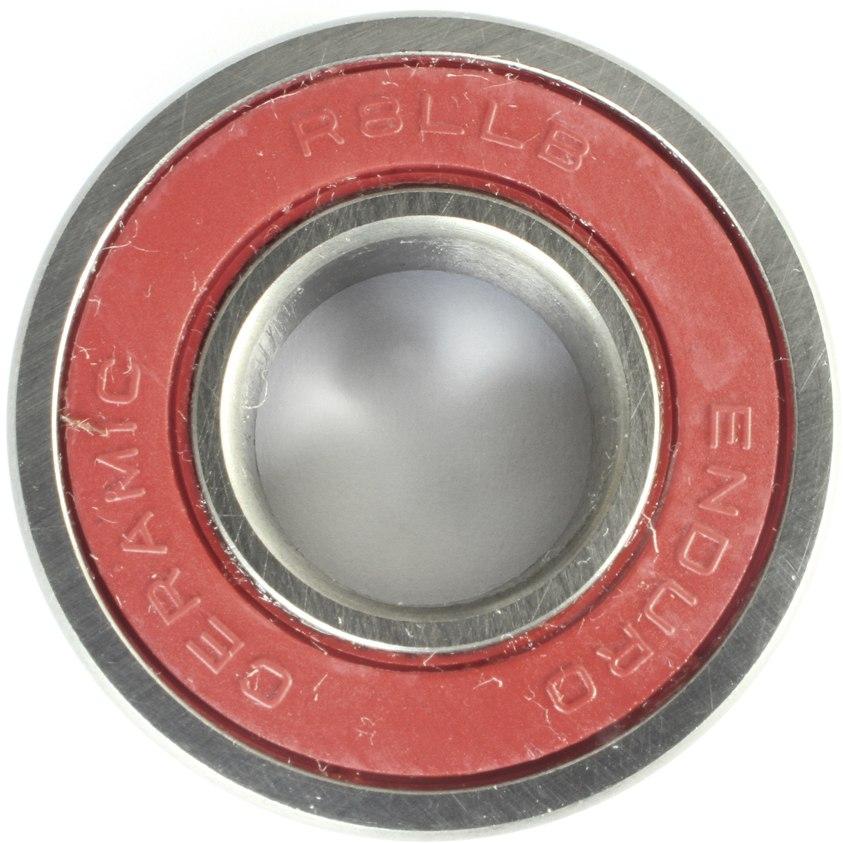 """Image of Enduro Bearings CHR8 LLB - ABEC 5 - Ceramic Hybrid Ball Bearing - 1/2x1-1/8x5/16"""""""