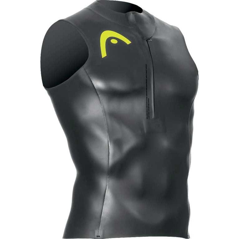Produktbild von HEAD SwimRun Race Zipper Top Unisex - black/brazil