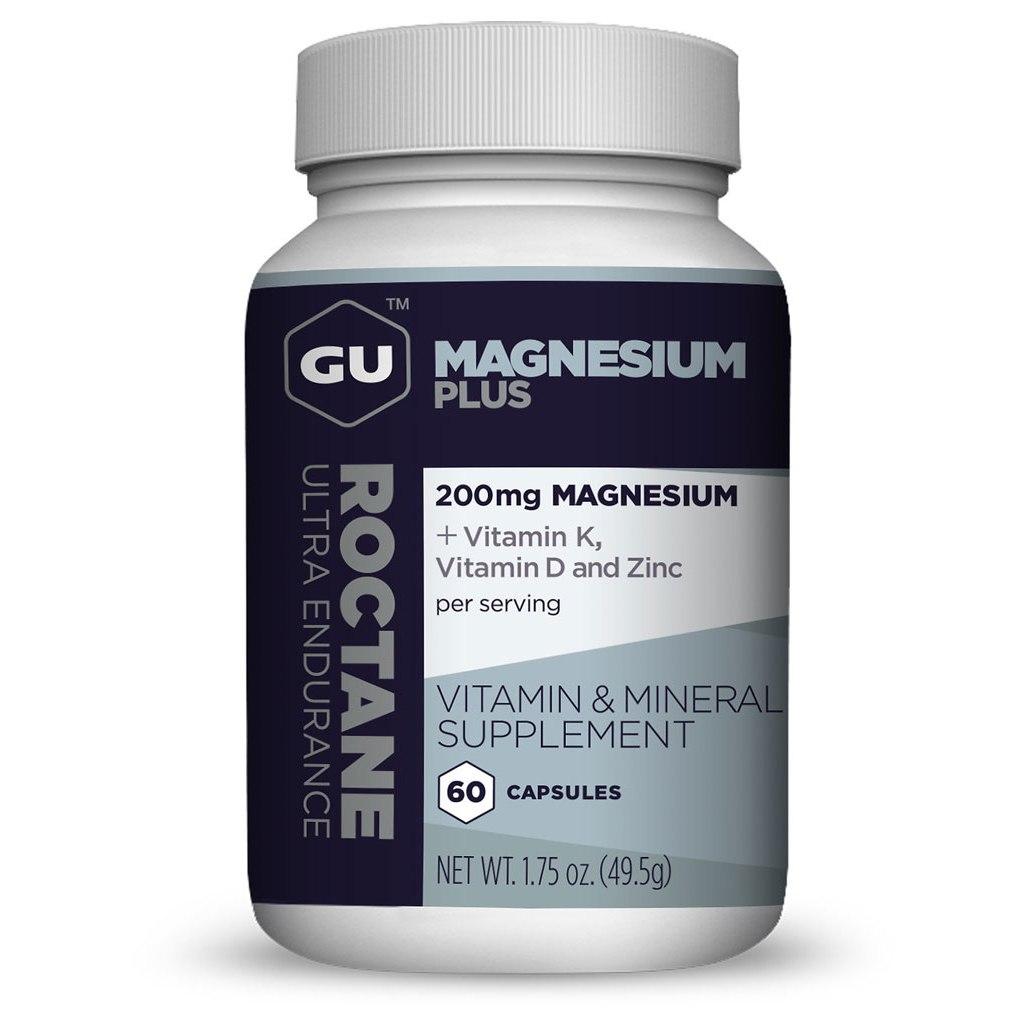 GU Roctane Magnesium Plus Capsules - 60 pcs.