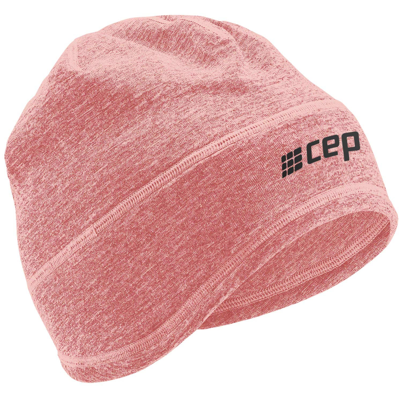 CEP Winter Run Beanie - rose melange