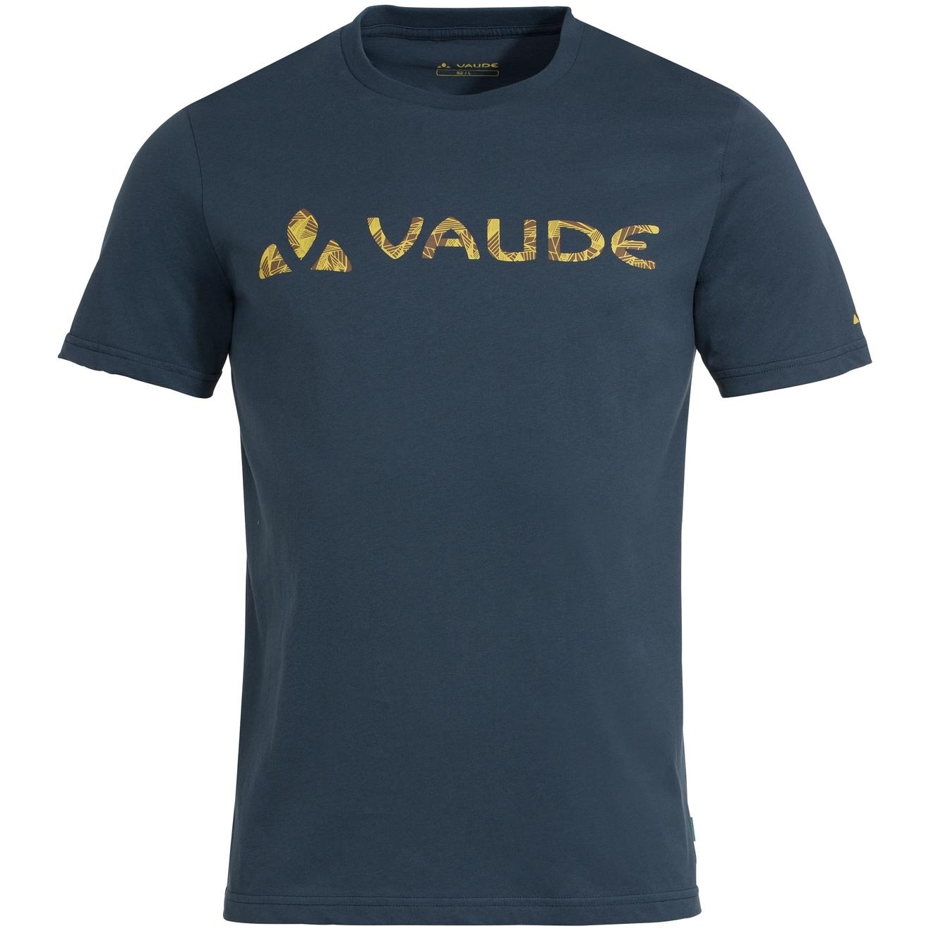 Vaude Logo T-Shirt - steelblue
