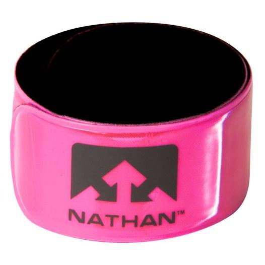 Nathan Sports Reflex Band (Pair) - Hi-Viz Pink