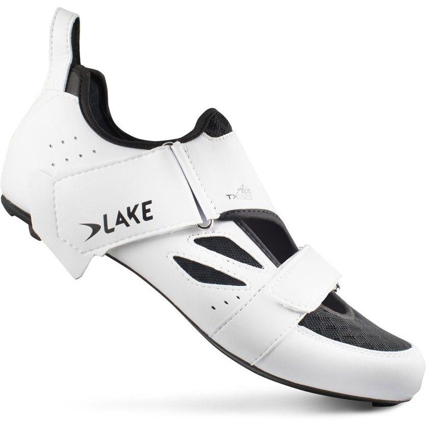 Lake TX223 Air Triathlon Shoe - white / black