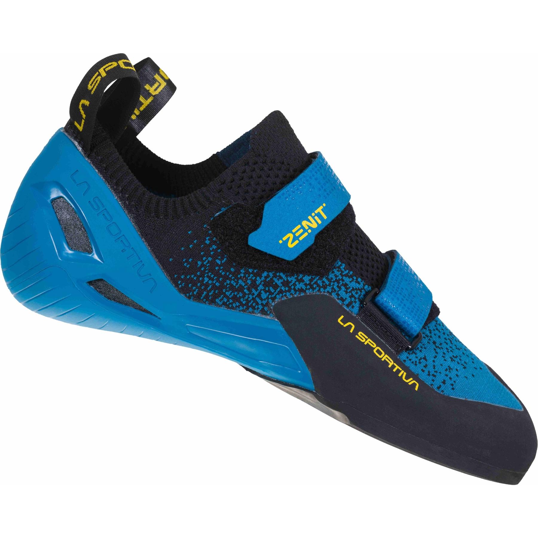 La Sportiva Zenit Climbing Shoes - Neptune/Black
