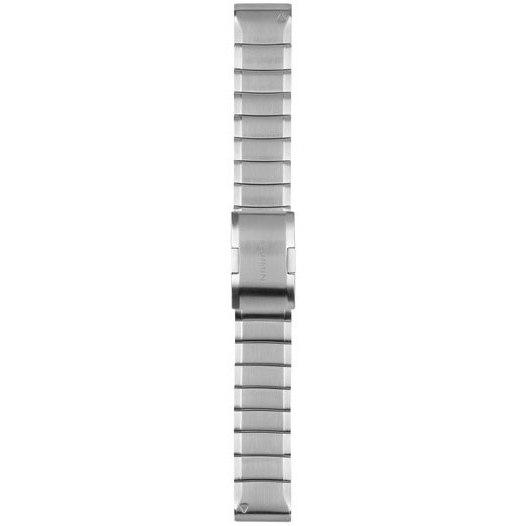Bild von Garmin QuickFit 22 Uhrenarmband fürfenix 5/6 / Forerunner 935/945 / Instinct - Stainless Steel 010-12496-20