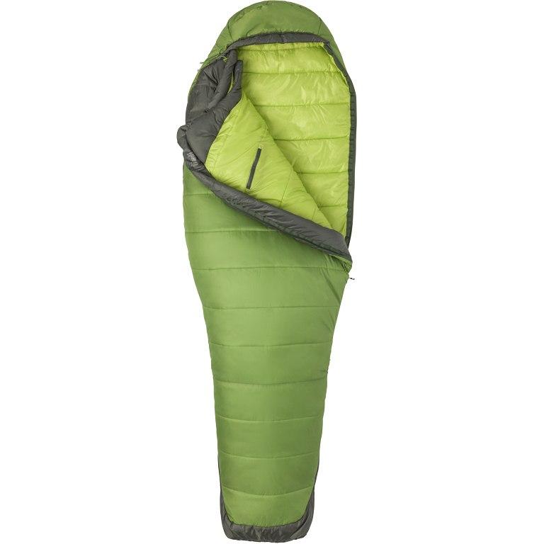 Marmot Women's Trestles Elite Eco 30 Synthetic Sleeping Bag - wheatgrass/crocodile