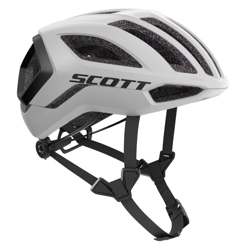 SCOTT Centric PLUS (CE) Helm - white/black