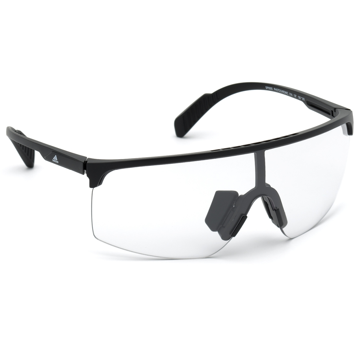 adidas Sp0005 Injected Gafas del Sol Sport - Shiny Black / Vario Crystal