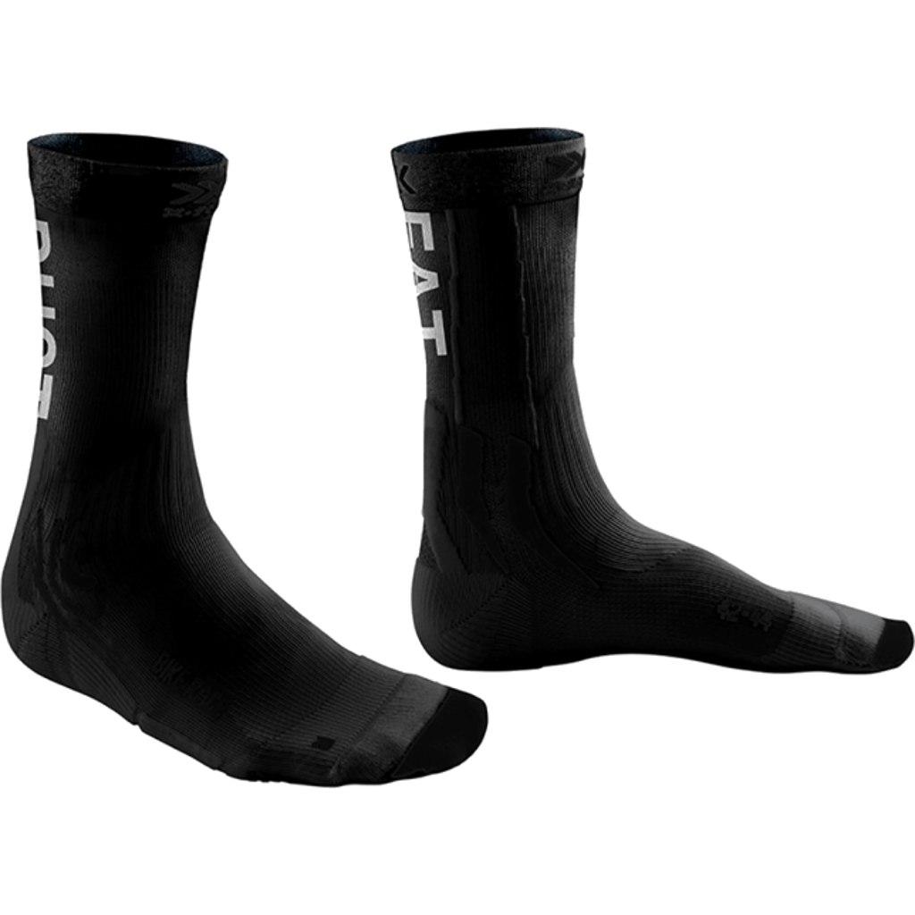 X-Socks Bike Race Socken - opal black/eat dust