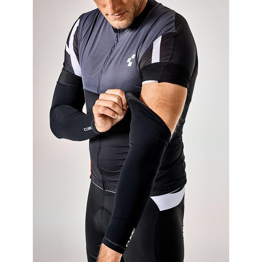 Image of CUBE BLACKLINE Arm Warmers - black