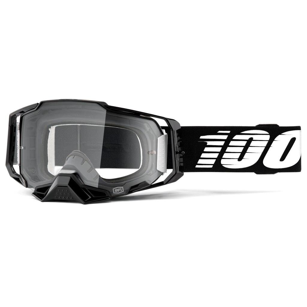 Imagen de 100% Armega Goggle Clear Lens - Black Essential