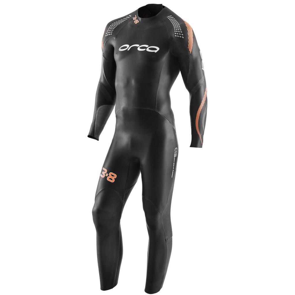 Orca 3.8 Enduro Fullsleeve Mens Triathlon Wetsuit - black