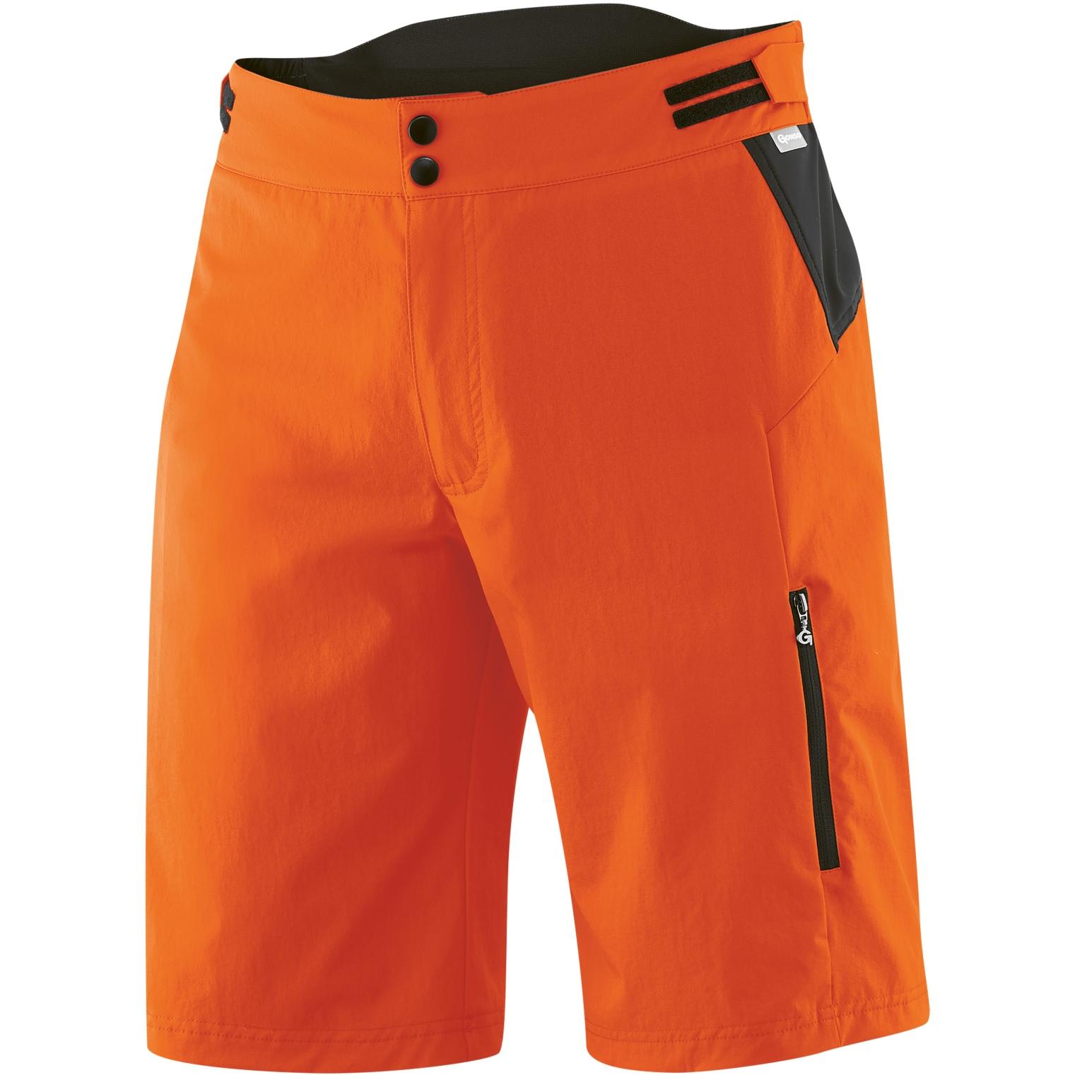 Gonso Buet Men's Bike Shorts - mandarin red