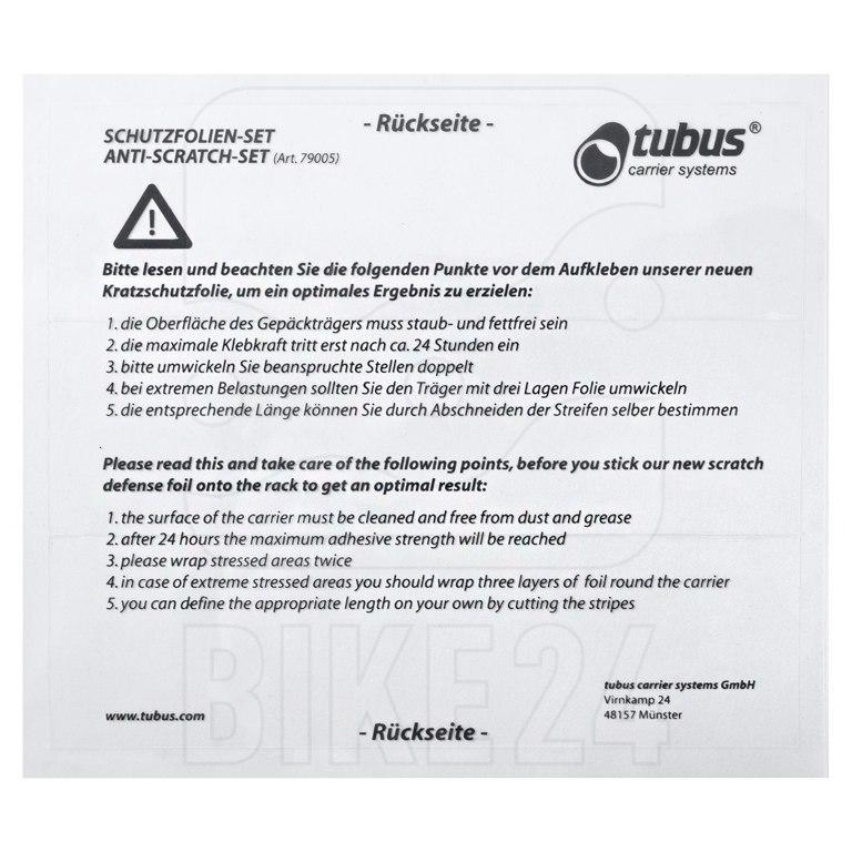 Tubus Protection foil-set