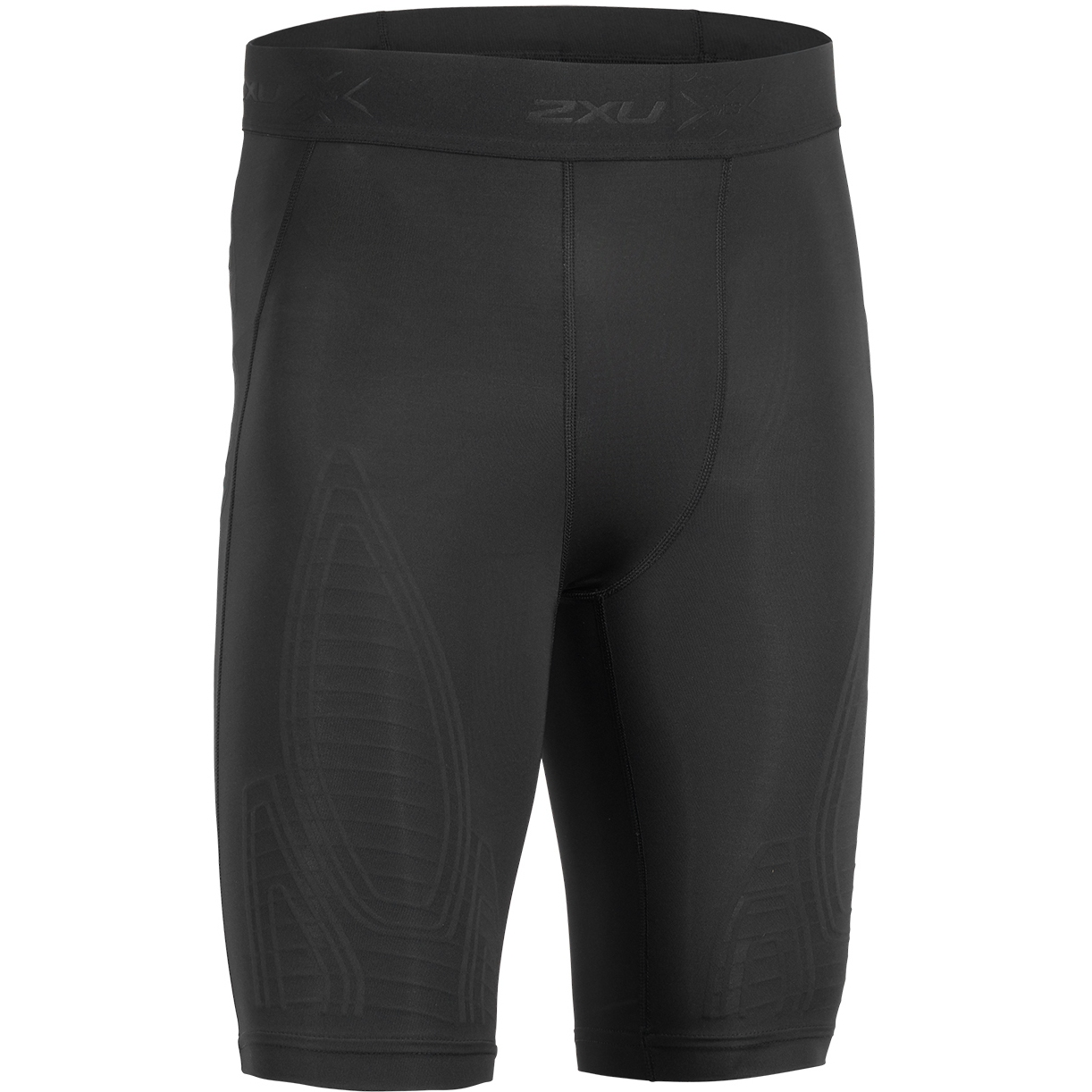 Imagen de 2XU MCS Cross Training Compression Pantalon corto - black/gold