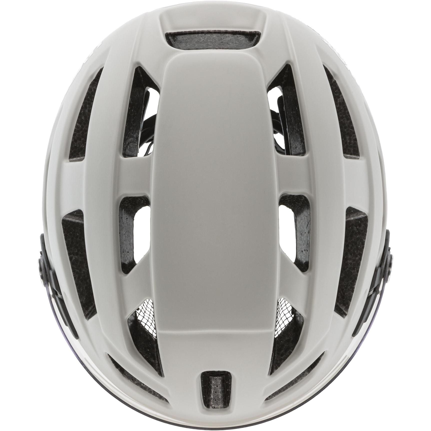 Image of Uvex finale visor Helmet - sand-white mat
