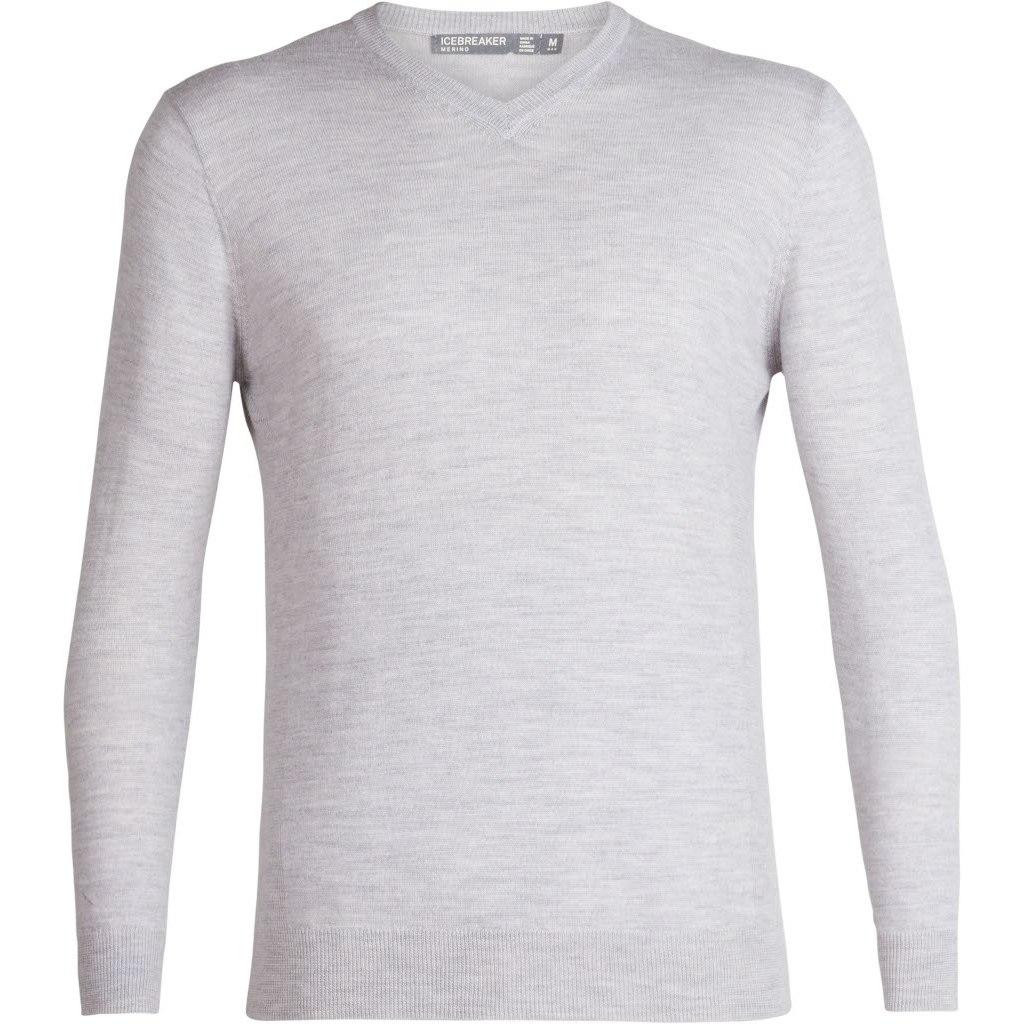 Produktbild von Icebreaker Shearer V Sweater - Steel HTHR