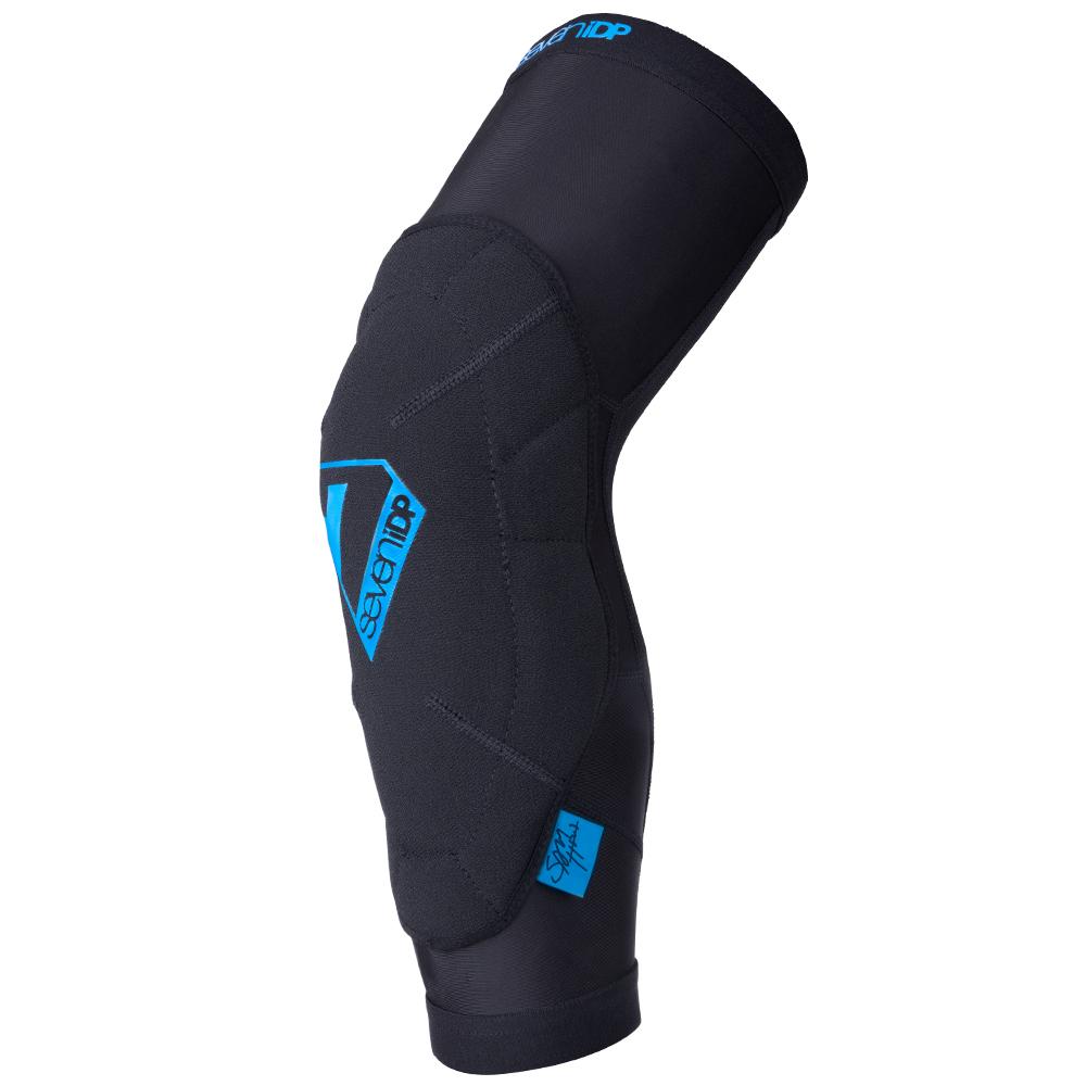 Foto de 7 Protection 7iDP S. Hill Knee Pads - black-blue