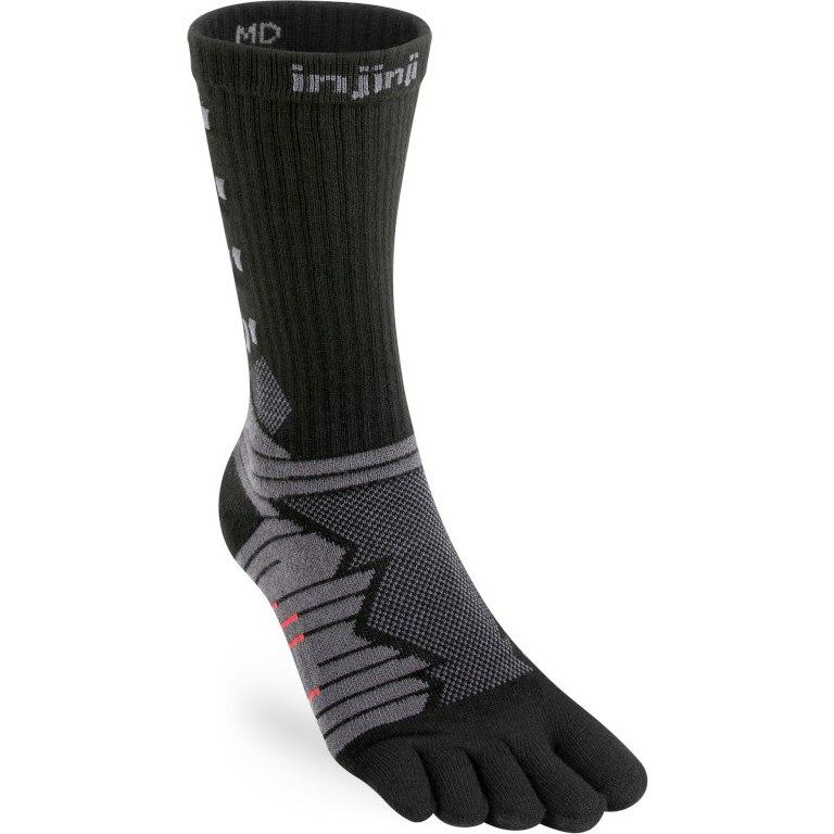 Produktbild von Injinji Ultra Run Crew Socken - Obsidian